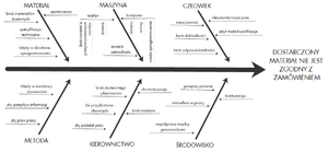 Wykres Ishikawy Encyklopedia Zarzadzania