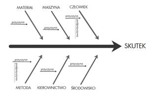 Wykres Ishikawy Encyklopedia Zarządzania